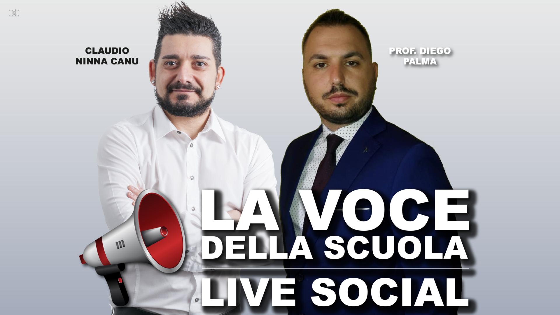 La Voce della Scuola: Live Social di informazione e discussione sul lavoro, formazione professionale e sulla scuola