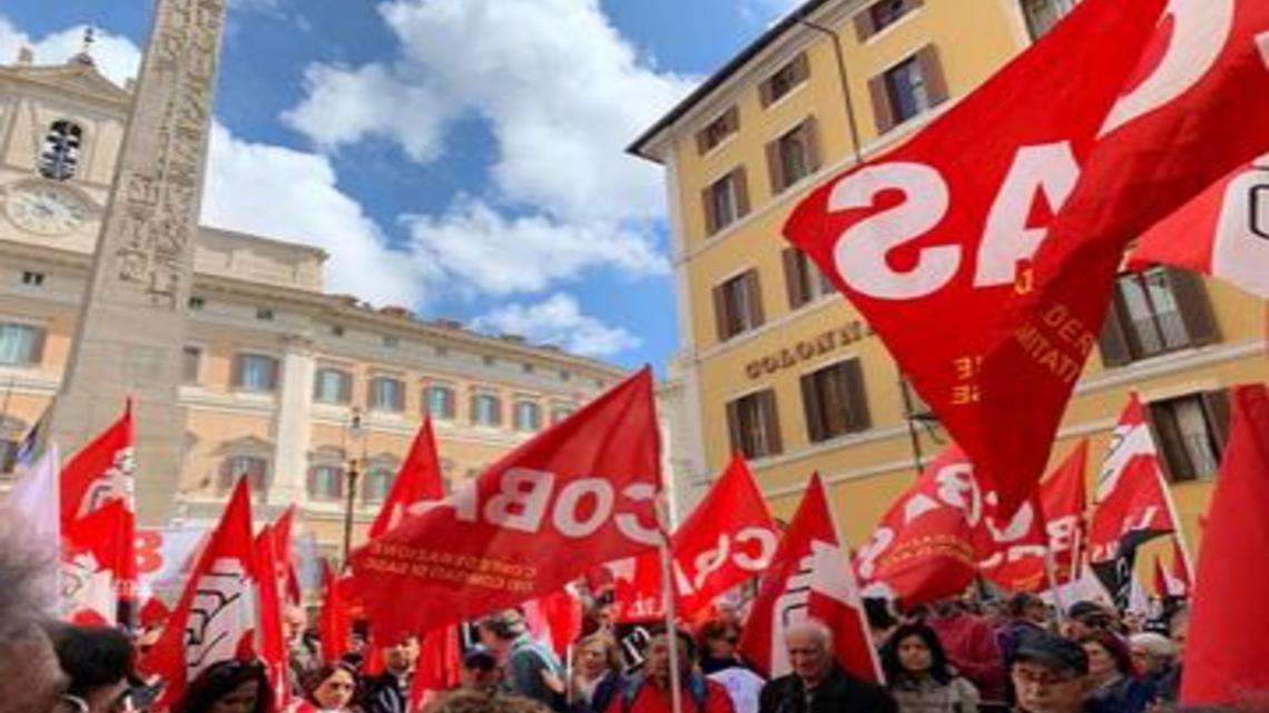 Cobas Scuola: 26 marzo, sciopero nazionale scuola e trasporto pubblico locale con manifestazioni in 67 città