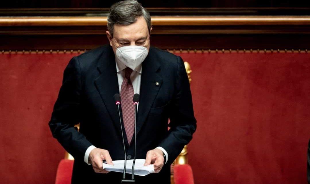 """Draghi: """"siamo pronti, dopo Pasqua"""""""