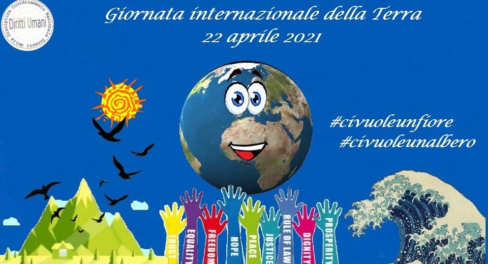 Il Coordinamento Nazionale dei Docenti della disciplina dei Diritti Umani celebra la Giornata Mondiale della Terra del 22 aprile 2021
