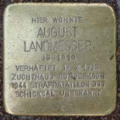Coordinamento Nazionale Docenti della Disciplina Diritti Umani: Oggi ricorre il compleanno di un uomo poco conosciuto per quanto dovrebbe: August Landmesser
