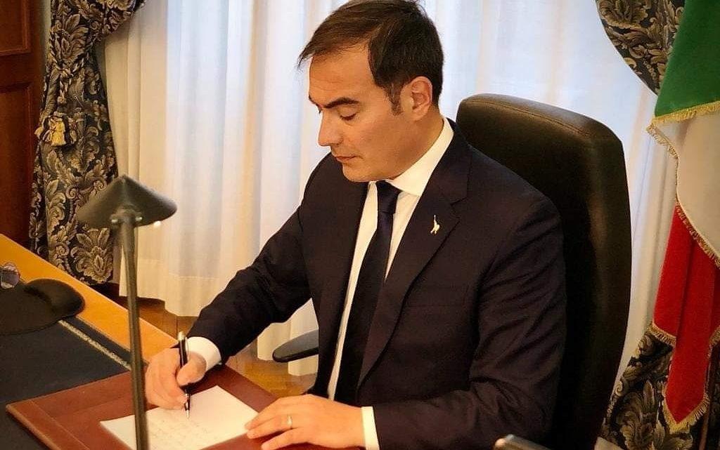 """Rossano Sasso, sottosegretario di Stato al Ministero dell'istruzione: """"Da Messina una bella storia di creatività e inclusione"""""""