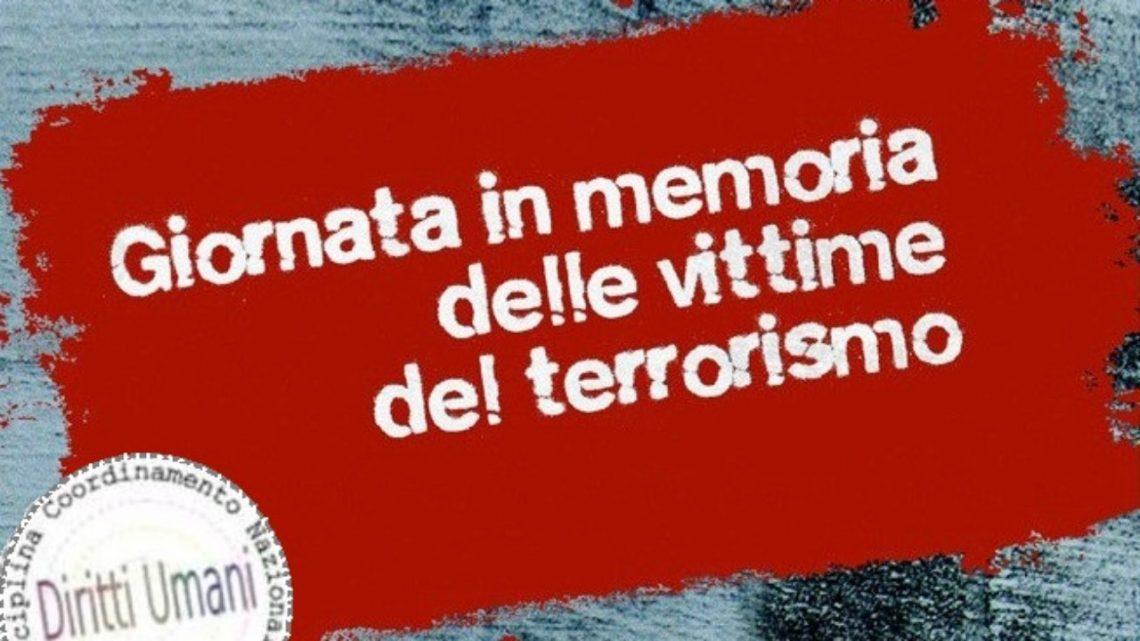 Coordinamento Nazionale dei Docenti della disciplina dei Diritti Umani: Giornata nazionale dedicata alle vittime del terrorismo, istituita con legge 4 maggio 2007
