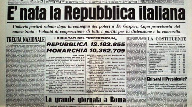 """""""L'alba della Repubblica"""""""