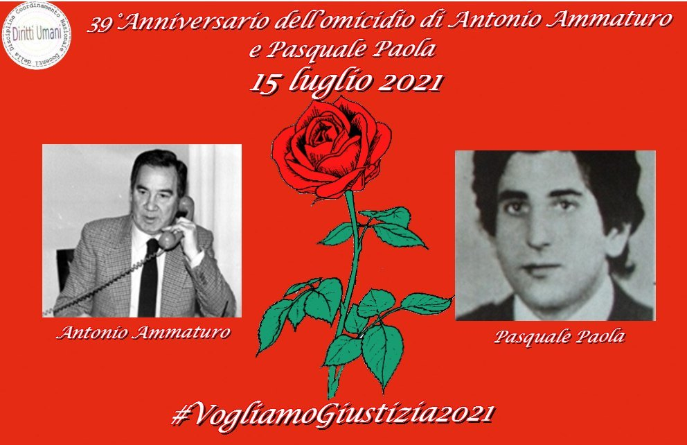 IL CNDDU, propone di visionare il video commemorativo realizzato dalla Polizia di Stato e dedicato interamente al vice questore Antonio Ammaturo