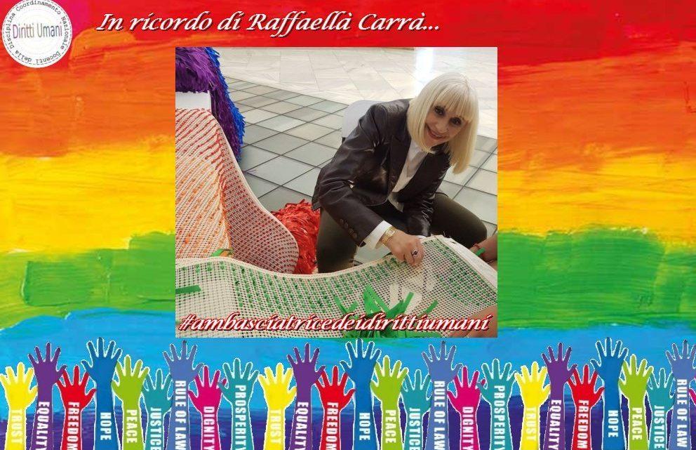 """Raffaella Carrà: """"Ho iniziato a informarmi, anche perché molte persone dei cast dove ho lavorato erano gay. Mi sono sempre chiesta. Com'è possibile che esista questo gap tra genitori, figli amici e società di fronte a delle creature?"""""""