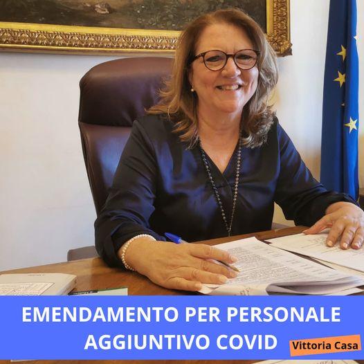 Emendamento Casa per personale scolastico aggiuntivo, fino al termine delle attività didattiche: personale Covid