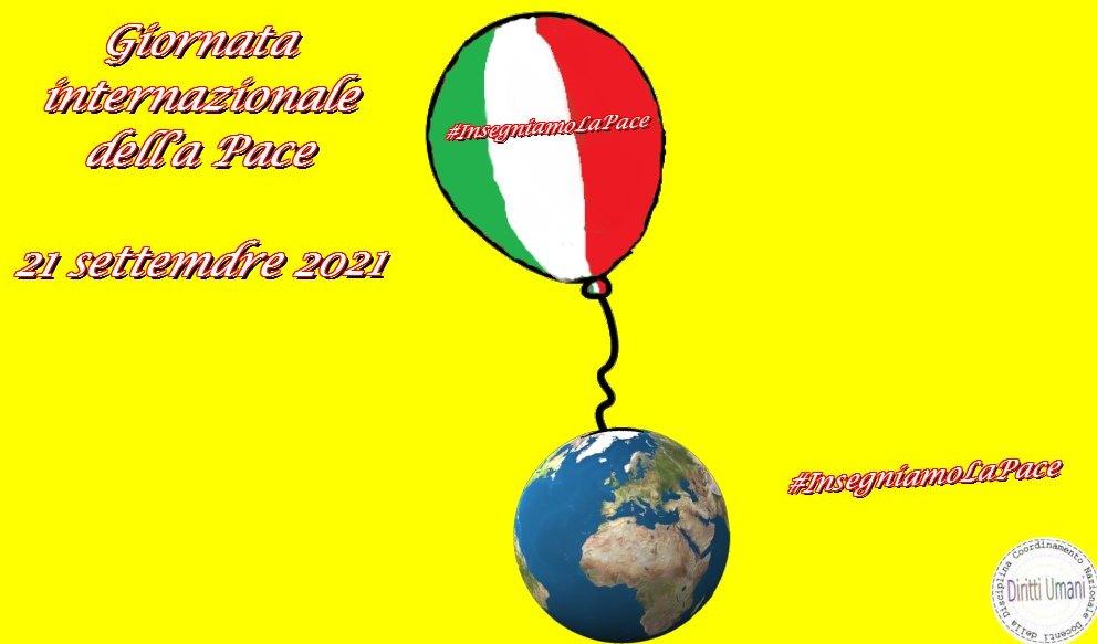 Giornata internazionale della pace, celebrata il 21 settembre