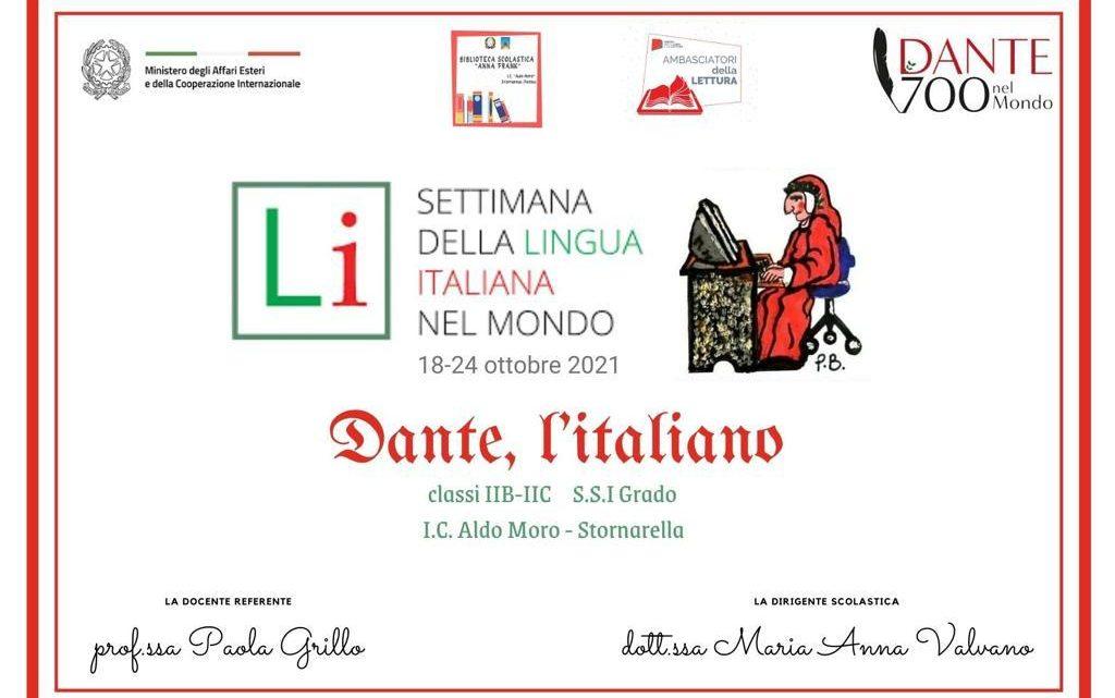 """Paola Grillo: """"Dante, l'italiano"""" è il tema della XXI edizione della Settimana della Lingua Italiana nel Mondo"""""""